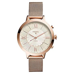 Fossil Womens Smartwatch with Stainless Steel Strap FTW5018