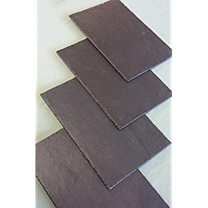 Schieferplatte 20 x 10 cm als Beistellplatte