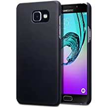 2016 Galaxy A5 Housse, Terrapin Étui Caoutchoutée pour Samsung Galaxy A5 2016 Coque - Solide Noir
