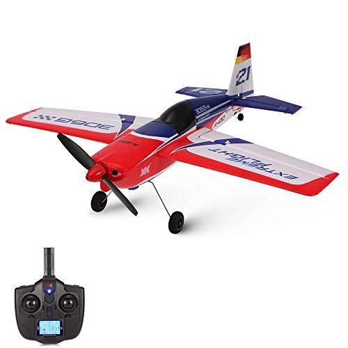 pter A430 2.4G 3D6G Mini-Fernbedienung RC Radio Aircraft Drone Flugzeug Drone Hubschrauber Spielzeug Ferngesteuert Kinder (One size, rot) ()