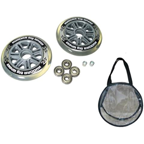 HUDORA 14606 parte de juguete - partes de juguetes (Coche, Ruedas, Gris, 12,5 cm, 12,5 cm, 4,8 cm)