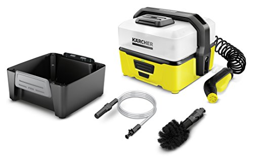 Kärcher OC 3 Mobile Outdoor Cleaner inkl. Adventure Box, mit Lithium-Ionen-Akku und Wassertank