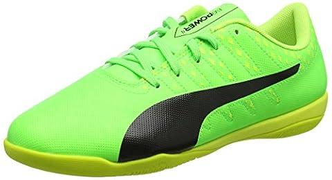 Puma Herren Evopower Vigor 4 IT Fußballschuhe, Grün (Green Gecko-Puma Black-Safety Yellow 01), 41