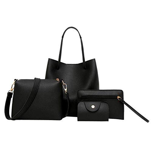 SUNNSEAN Tasche,Mode Neue Damen Damen Tasche einfache Handtasche Schultertasche große Tasche...