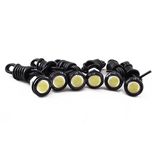 HOTSYSTEM 6x 12V Superhelle Auto Tagfahrlicht DRL LED Wasserdicht Motorrad Adler Augen Rückfahrlicht Parklicht - Led-scheinwerfer Wasserdichte