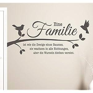 Wandtattoo Spruch Familie – Dein Haushalts Shop