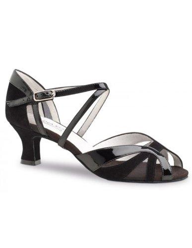 Anna Kern 451-50 chaussures de danse vernies - talon de 5cm Noir