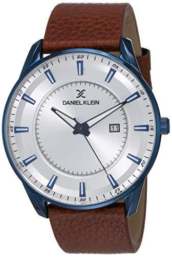 Daniel Klein Analog Silver Dial Men's Watch-DK12011-5