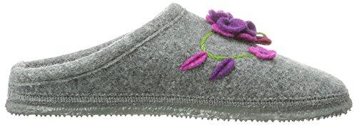 Giesswein - Pantofole Niederau, Donna grigio (Grau (Schiefer))