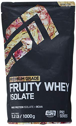 Esn Fruity Whey Isolate Tropical Punch, 1000 g - Elite-protein-pulver