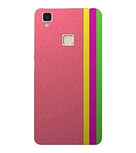 EPICCASE Modern Art Design Mobile Back Case Cover For VIVO V3 (Designer Case)