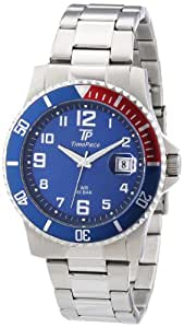 Time Piece Herren-Armbanduhr XL Sporty Analog Quarz TPGS-30162-32M