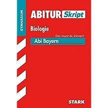Abiturskript Bayern Biologie