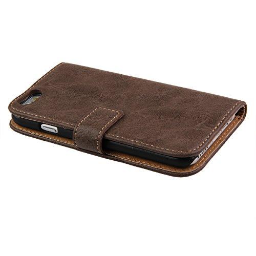 ... Ukayfe Custodia portafoglio   wallet   libro in pelle per Apple iphone  6 Plus 6S ... a1203162492