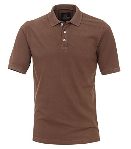 Casa Moda - Herren Polo-Shirt in verschiedenen Farben S-6XL (952137100) Braun (245)
