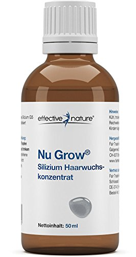 effective nature Nu Grow - Silizium Haarwuchskonzentrat - 50ml