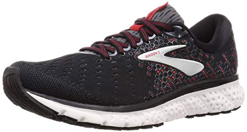 Brooks Glycerin 17, Scarpe da Running Uomo, Nero (Black/Ebony/Red 021), 41 EU