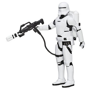 Hasbro – B3916 – Star Wars : The Force Awakens – Flametrooper du Premier Ordre – Figurine 30 cm + Accessoire