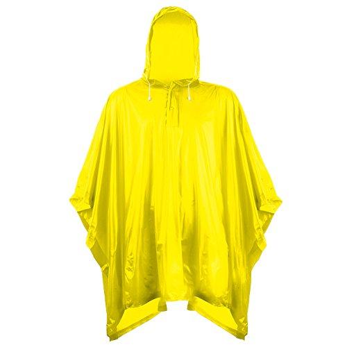 Unisex Adult Splashmacs Waterpoof Thick PVC Plastic Poncho Groundsheet