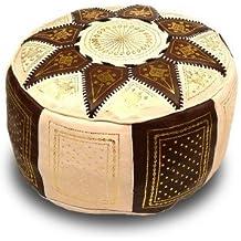 Amazon.fr : pouf marocain blanc