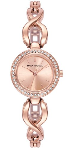 Mark Maddox MF0007-97 - Reloj, impermeable, 30m,  color dorado