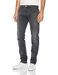 Replay Herren Slim Jeans Anbass Hyperflex