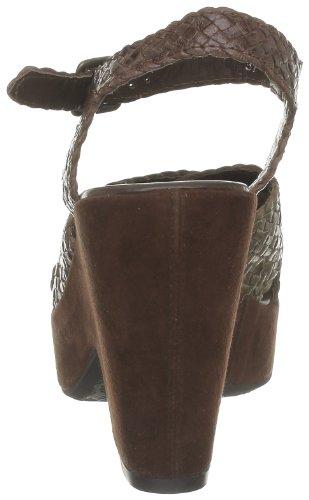 Yves Desfarge Man, Sandales femme Marron (Tresse Bronze/Marron)