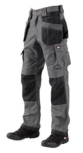 Lee Cooper 210 Pantalon Cargo Long pour homme, gris Black
