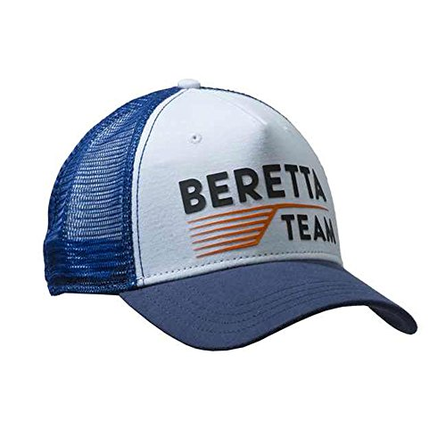 Beretta Team Baseball Cap Blue & White Hat Shooting Trap Clays BT051-056V