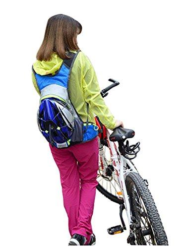 peiji Outdoor Wandern Laufen Rucksack Fahrrad Radfahren Reiten Rucksack Tasche rot