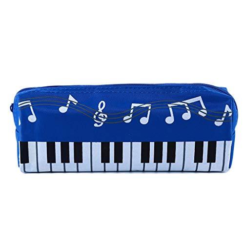 Ogquaton Estuche lápices Patrón teclado piano Caja