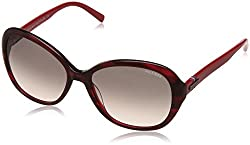 Tommy Hilfiger Gradient Butterfly Womens Sunglasses - (7883 Burdgr-35 C3 57 S|57|Grey Color)