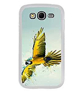 Yellow Parrot 2D Hard Polycarbonate Designer Back Case Cover for Samsung Galaxy Grand 2 :: Samsung Galaxy Grand 2 G7105 :: Samsung Galaxy Grand 2 G7102