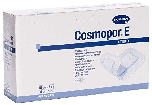 Hartmann Cosmopor E Verband, 20cm x 10cm, 25Stück (Klebestreifen Sterile)