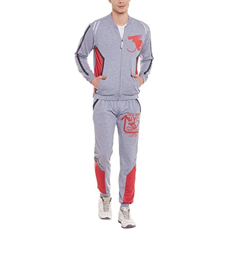 Yepme Men's Poly Cotton Tracksuits - Ypmtrack0163-$p