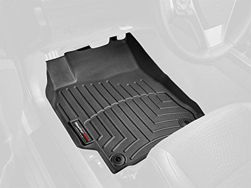 WEATHERTECH Fußmatten 45086-1-2 MAZDA3, Schwarz Weathertech Fußmatten Mazda3