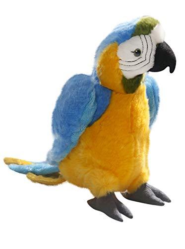 Carl Dick Peluche - Loro Azula-Amarillo (Felpa, 27cm) [Juguete] 3338
