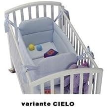 Gerrybaby Riduttore x Lettino Piquet CIELO (Cotone Tessuto Piano Tappeto)