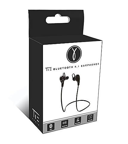 TIE Audio Bluetooth 4.1 In Ear Kopfhörer schwarz