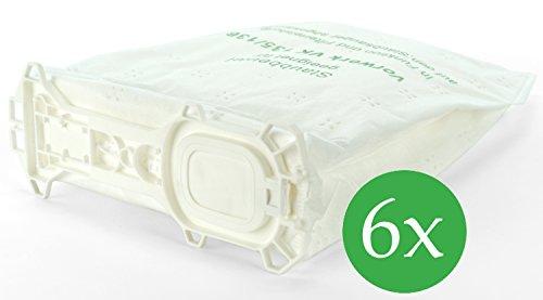 6 Staubsaugerbeutel Premium Vlies geeignet für Vorwerk Kobold 135 und 136