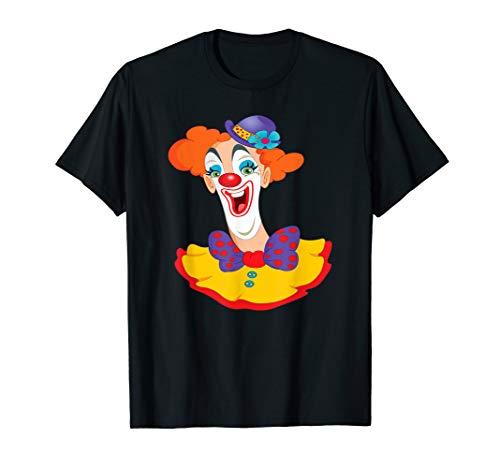 Männer Kostüm Circus - Circus Clown Lustige Karneval Geburtstag Fasching T-Shirt