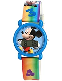 Disney Digital Silver Dial Children's Watch - DW100231