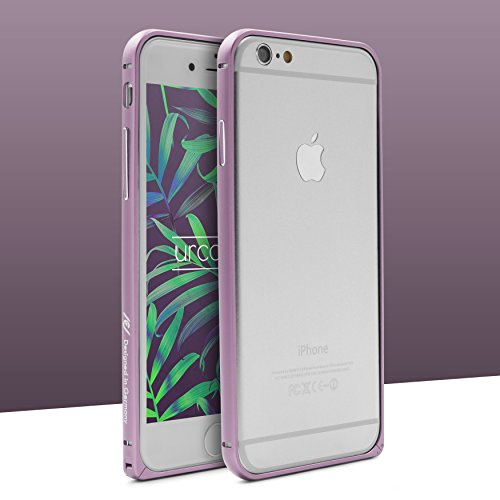 Original Urcover® Apple iPhone 6 / 6s Aluminium Bumper (4.7 Zoll) Case Schutz Hülle [DEUTSCHER FACHHANDEL] Alu Metal Rahmen Cover iphone6 Rot Rosa