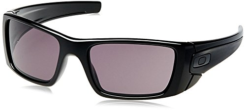 Oakley Herren Fuel Cell Sonnenbrille - Polished black/Warm grey