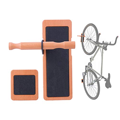 Fahrradträger Wandhalterung Display, Vertikale Fahrrad Anti Slip Rack Reifenhalterung Schuppen Platzsparend Wandhalterung, Fahrrad Wandhalterung Wandhalterung zum Aufhängen Fahrrad Wandhaken Lagerung