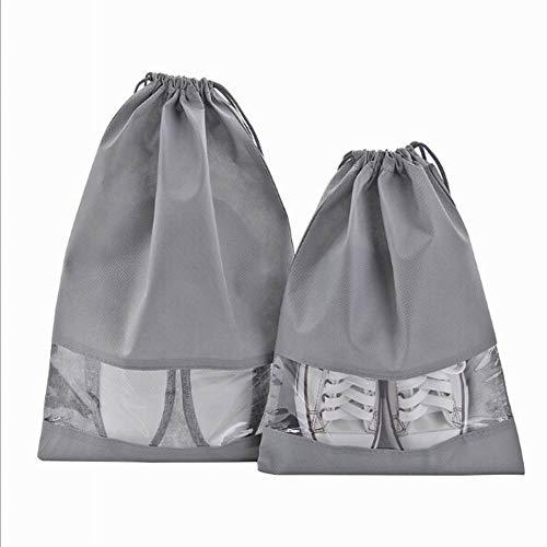 Alivier Reise Schuhe Aufbewahrungsbeutel Schuh-Box sichtbare Staubbeutel Schuh Deckel Bündel Tasche Reise Speicher Tasche (Schuh-speicher-box)