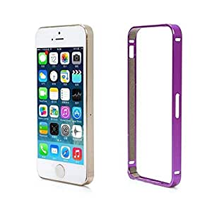 Luxury Aluminum Metal Hard Frame Phone Bumper Cover Case For Iphone 5 /5S