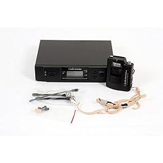 Audio-Technica ATW-3192b 3000 Series Headworn Condenser Microphone Wireless System Channel C 888365123011