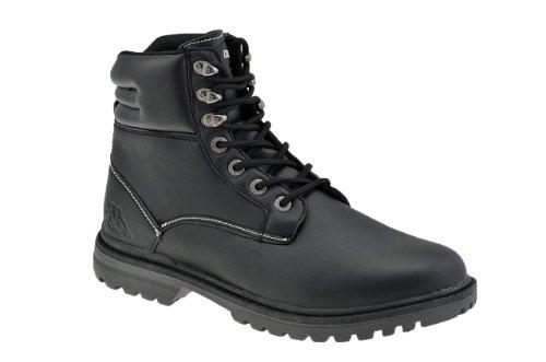Kappa Tobuti Paire de chaussures de sport pour homme Noir/beige - Black
