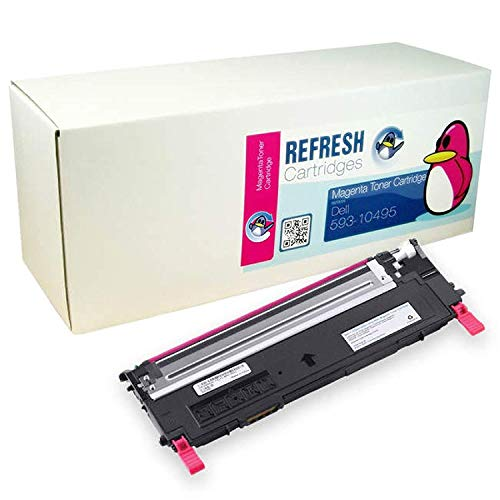 Refresh Cartridges Toner Kopie Patrone Ersatz für Dell 593-10495 (Magenta)